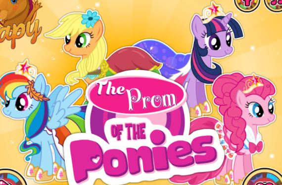 The Prom Of The Ponies Game