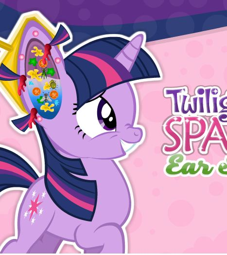 Twilight Sparkle Ear Surgery Game