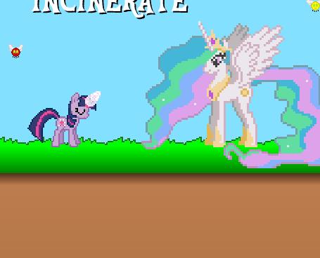 Twilight Sparkle Pest Exterminator Game