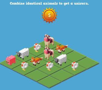 Unicorn 2048 Game