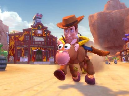 Woody And The Horse Puzzle Game