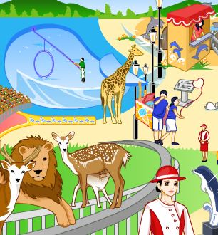 Zoo Decoration Game