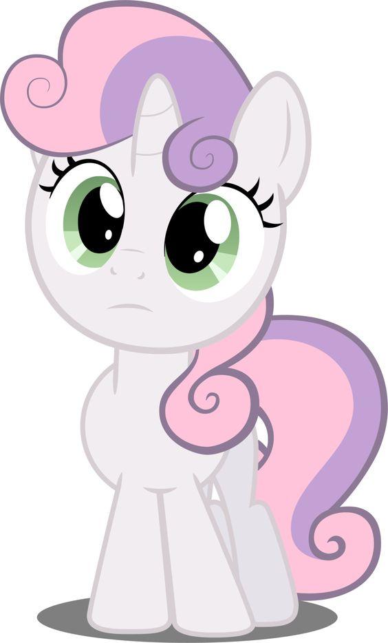 My Little Pony Sweetie Belle Character