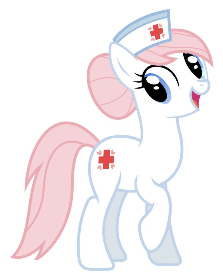 My Little Pony Nurse Redheart Character