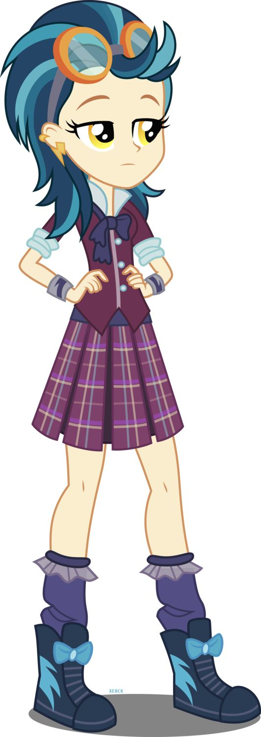My Little Pony Equestria Girls Indigo Zap Character