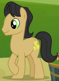 My Little Pony Golden Delicious Character