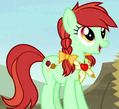 My Little Pony Half Baked Apple Character
