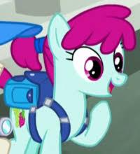 My Little Pony Ruby Splash Character