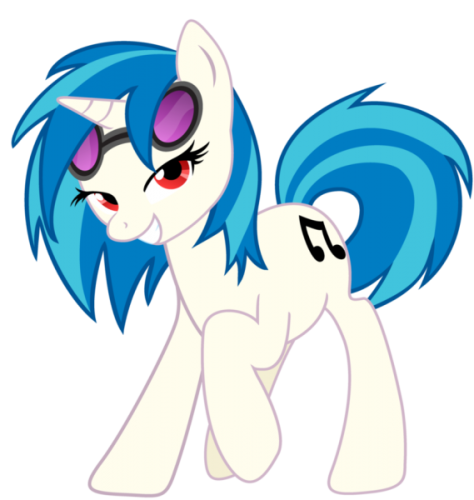 Pictures My Little Pony Vinyl Scratch Picture