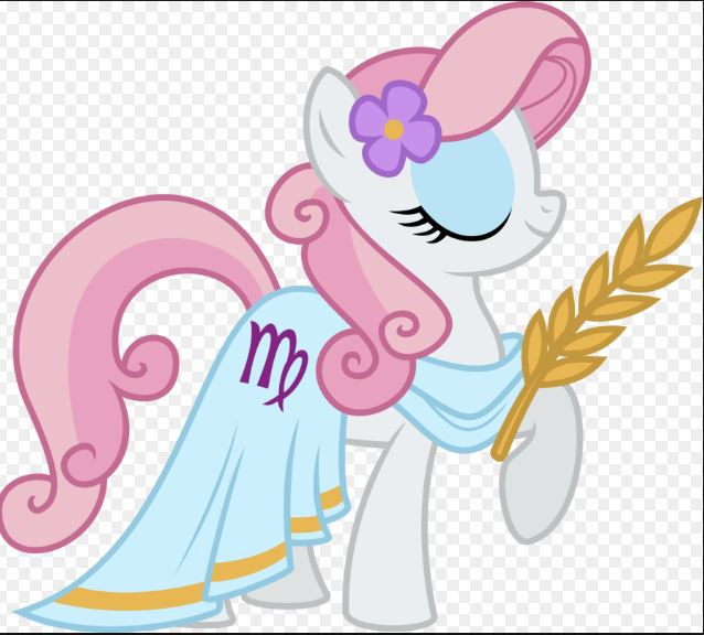 My Little Pony Princess Fluttershy Sleeping Picture