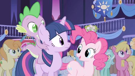 My Little Pony Friends At Party Picture