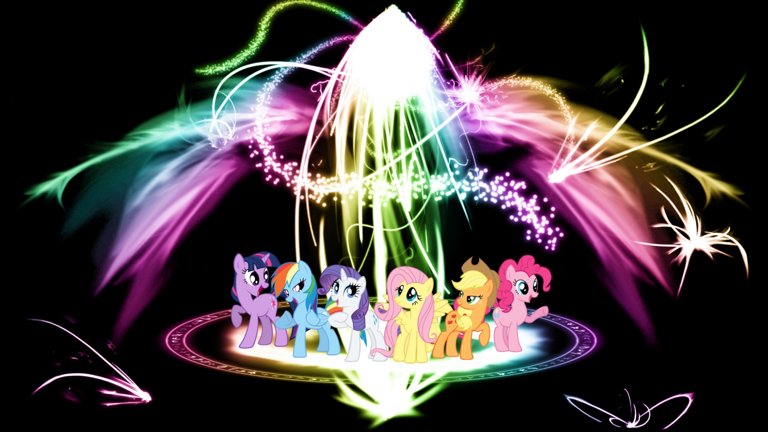 My Little Pony At Scene Picture