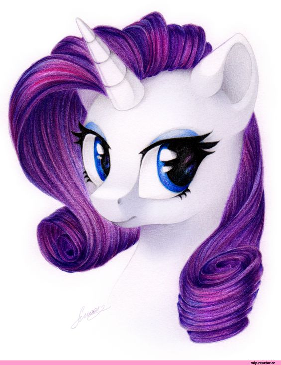 My Little Pony Rarity Eyes Picture