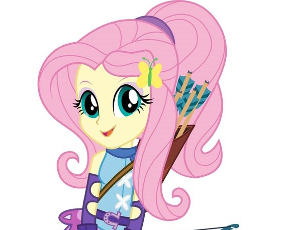 My Little Pony Fluttershy Archery Picture