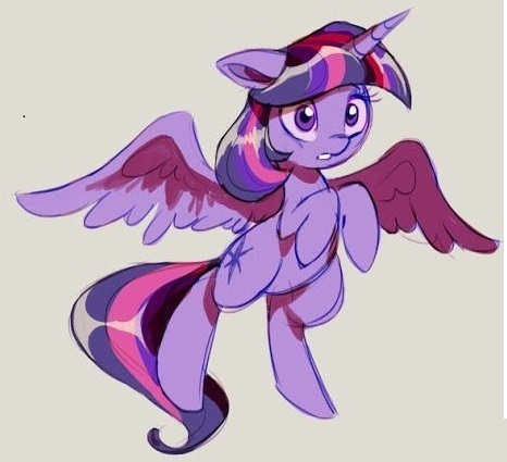 My Little Pony Twilight Fly Picture