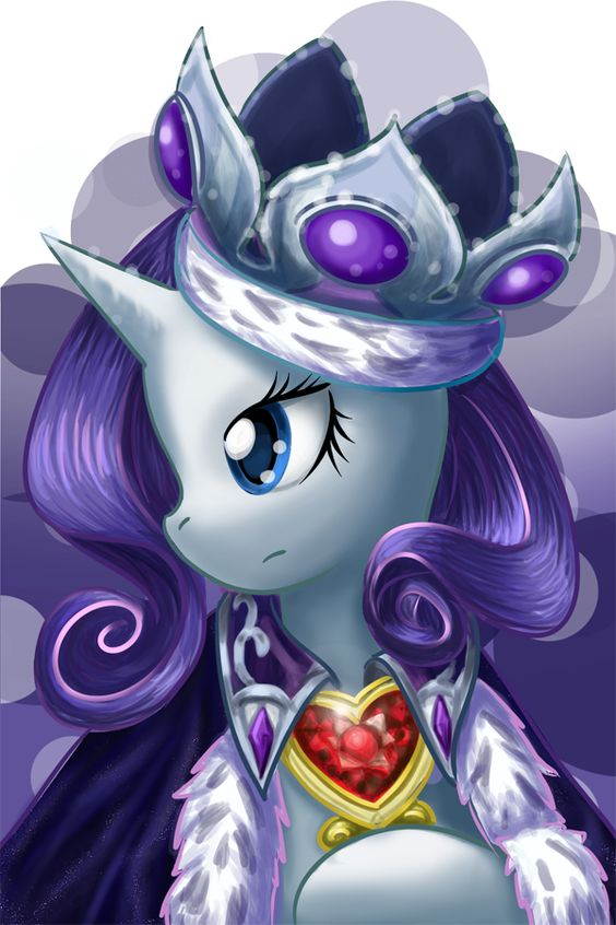 My Little Pony Princess Rarity Face