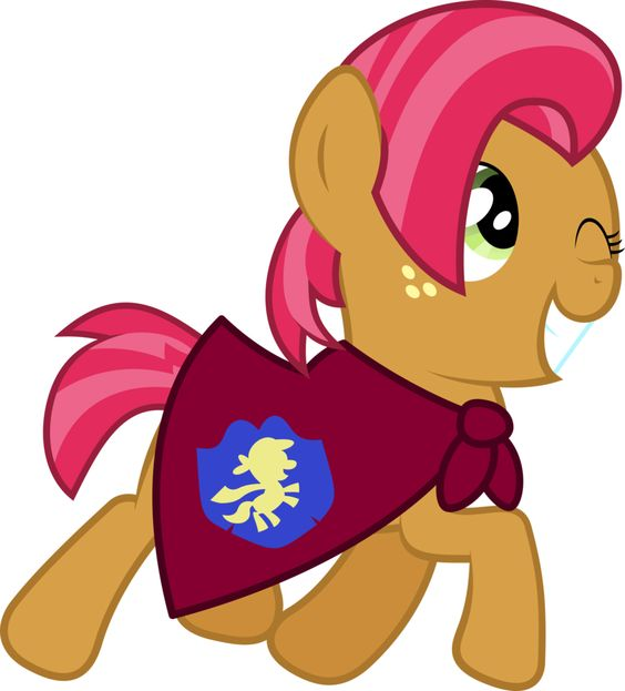 My Little Pony Apple Bloom Happy Picture