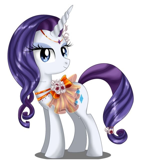 My Little Pony Rarity Enjoy Picture