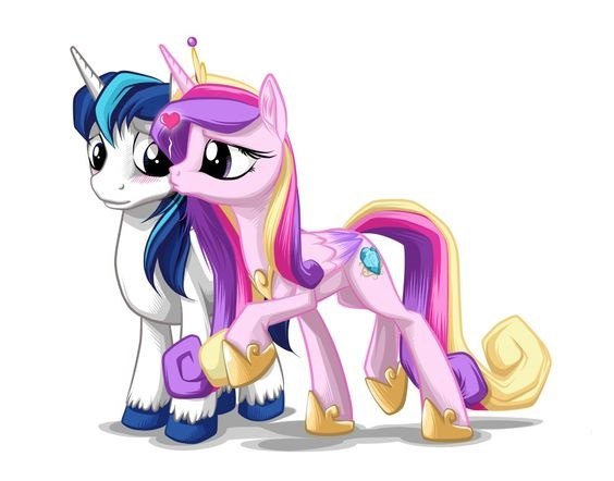 My Little Pony Princess Cadence And Friend
