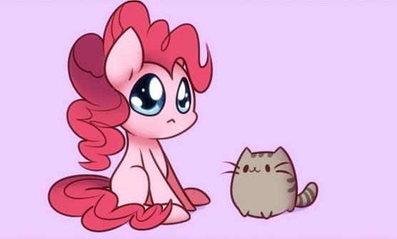 Baby Pinkie Pie And Kitty Picture