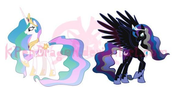 My Little Pony Princess Frienship Picture