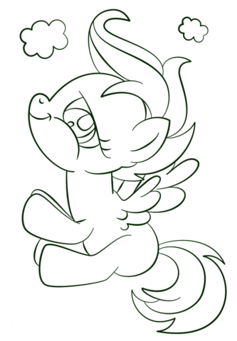 My Little Pony Scootaloo Coloring Page