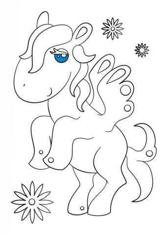Kawaii Pegasus