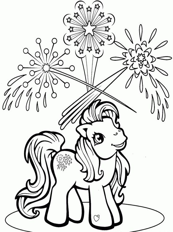 My Little Pony Fluttershy Walk Coloring Page