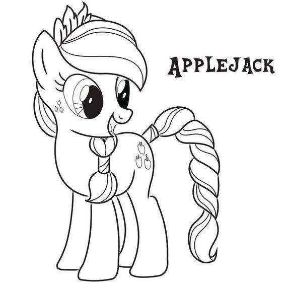 My Little Pony AppleJack New Hair