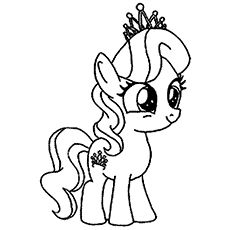 My Little Pony The Diamond Tiara Coloring Page