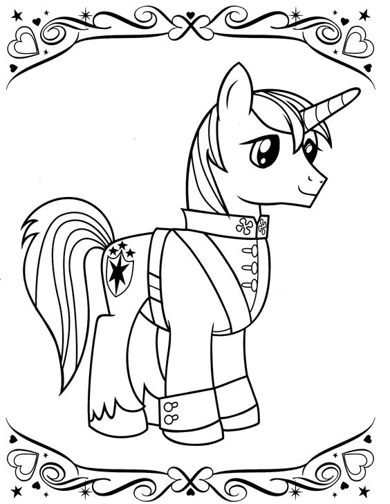 My Little Pony Princess Luna Coloring Page