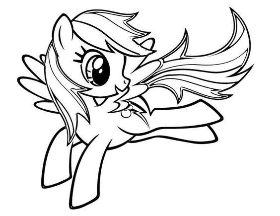 My Little Pony Rainbow Dash Fly