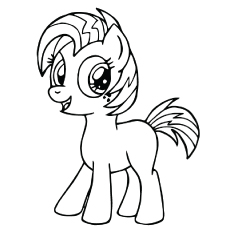 My Little Pony Nice Babs Seed Coloring Page