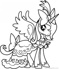 My Little Pony Princess Luna Walks Gabby Rested Coloring Page