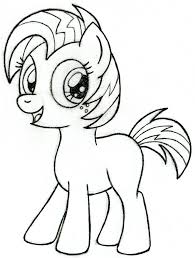 My Little Pony Babs Seed Coloring
