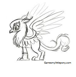 My Little Pony Gustave Le Grand Character Coloring