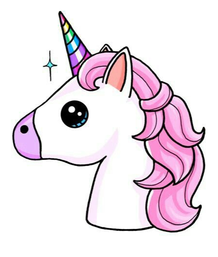 Unicorn Coloring With Horn Coloring Page