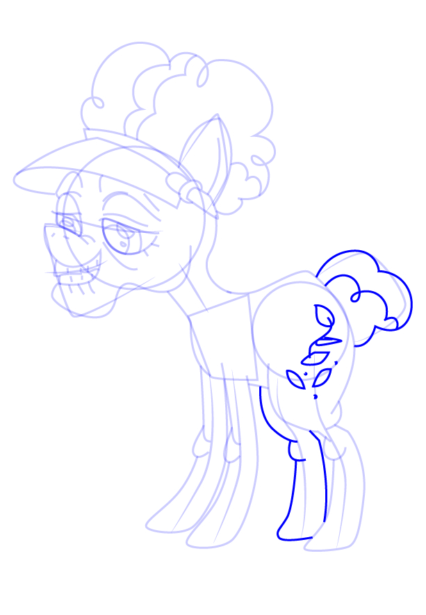 MLP Coloring Auntie Rose Coloring Page