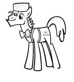 Mlp Coloring Mr and Mrs Cake Coloring Page