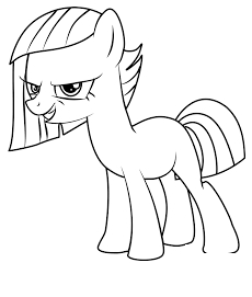 MLP Coloring Spoiled Rich