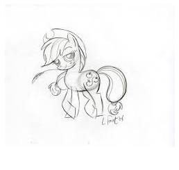 MLP Coloring Sunny Daze Coloring Page