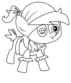 My Little Pony Coloring Pipsqueak