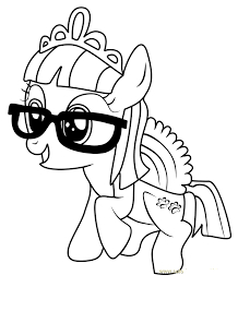 MLP Coloring Zipporwhill Coloring Page