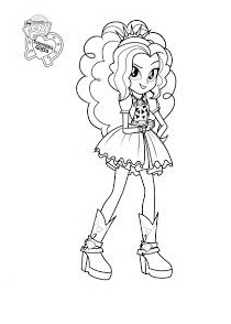 mlp adagio dazzle coloring pages - photo#4