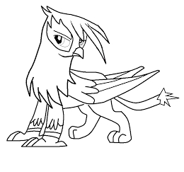 Mlp Coloring Gilda Coloring Page