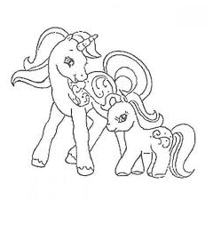 MLP Coloring Henchponies