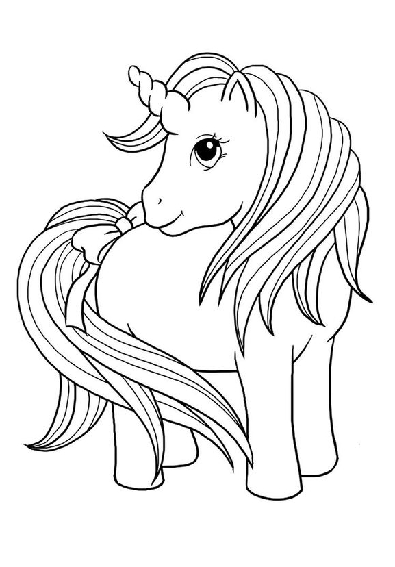 Princess Incorn Coloring 1 Coloring Page