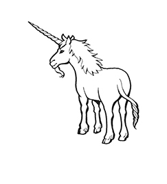 Archai Unicorn Coloring Page Coloring Page