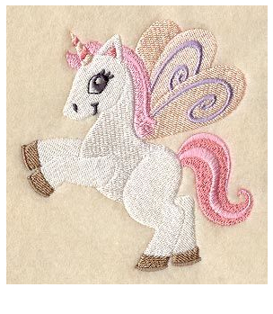 Unicorn Coloring Pink Color