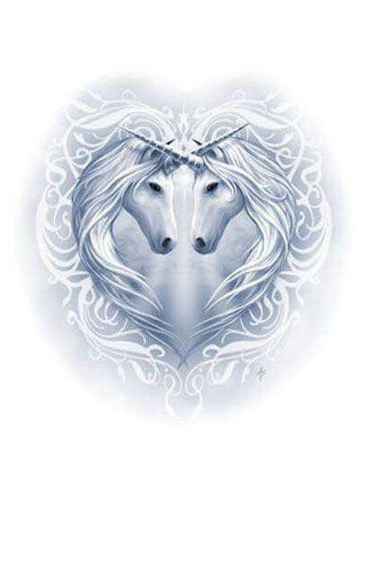 Unicorn Heart Coloring